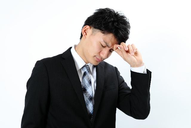 仕事に集中できない睡眠不足