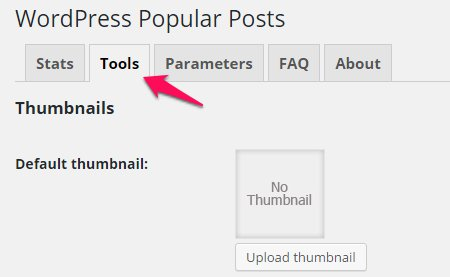 Wordpress Popular Postsの設定変更