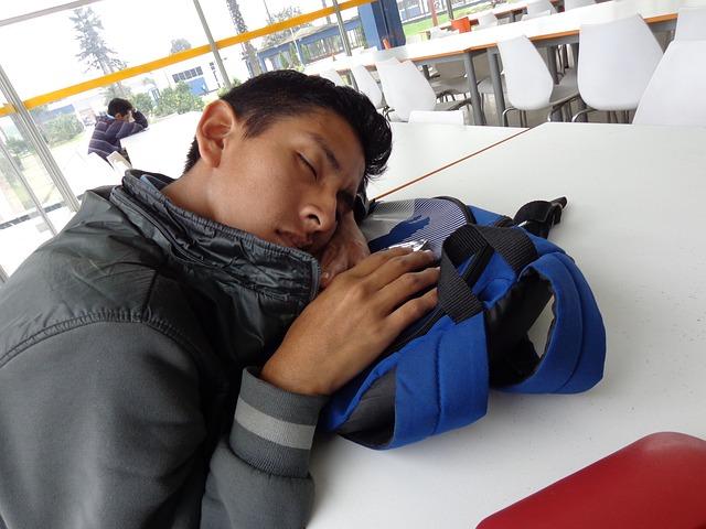 仕事を順調に進める寝起き