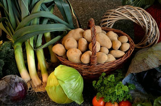 旬の食材の栄養価