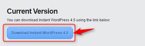 Instant WordPressのダウンロードバージョン