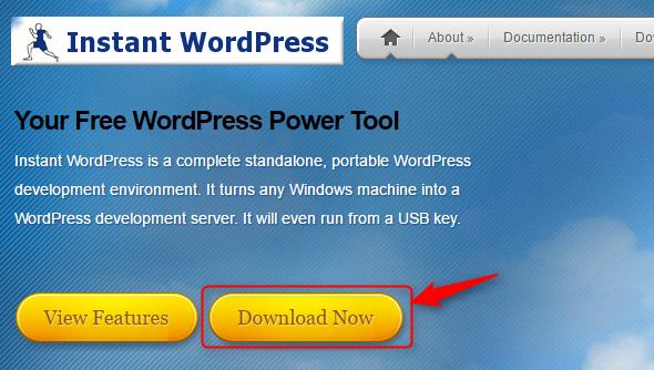 Instant WordPressの公式サイト