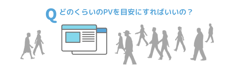 転送量の計算と目安のPV